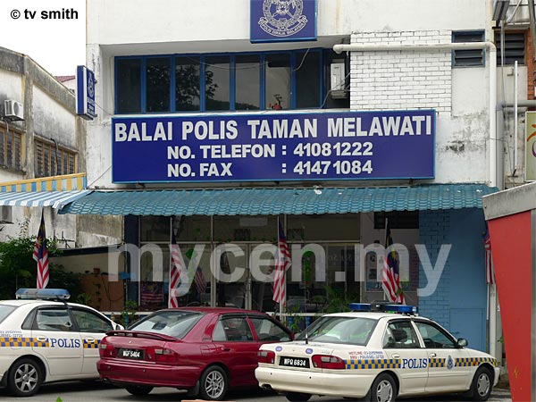 Balai Polis Taman Melawati