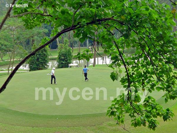 Kelab Darul Ehsan - KDE's 65 acres Golf Course