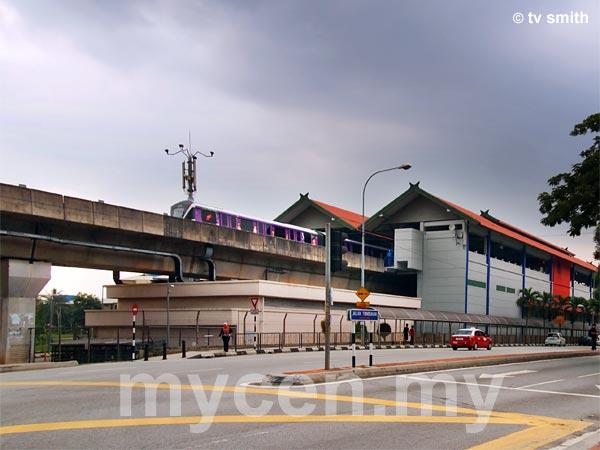 Taman Melati LRT Station