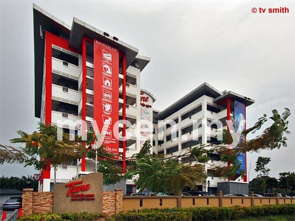 Tune Hotels: KLIA-LCCT Airport