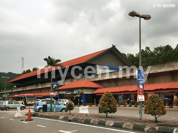 Gombak LRT Station - Terminal Putra LRT Station