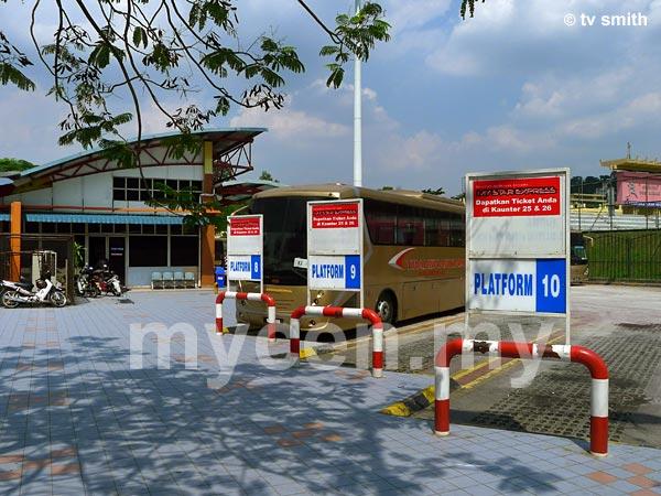 Hentian Duta - Stesen Bas di Jalan Duta