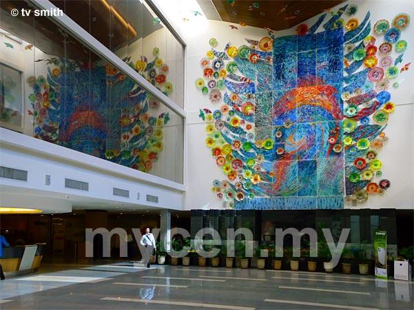 IJN's Atrium Lobby