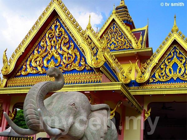 Thai Buddhist Chetawan Temple, Petaling Jaya