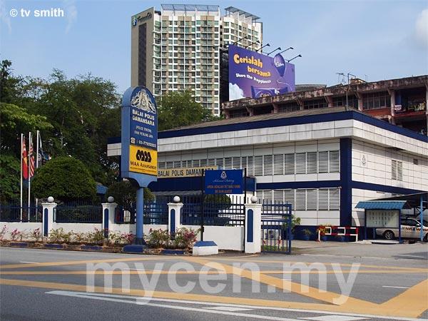 Balai Polis Damansara in Damansara Utama