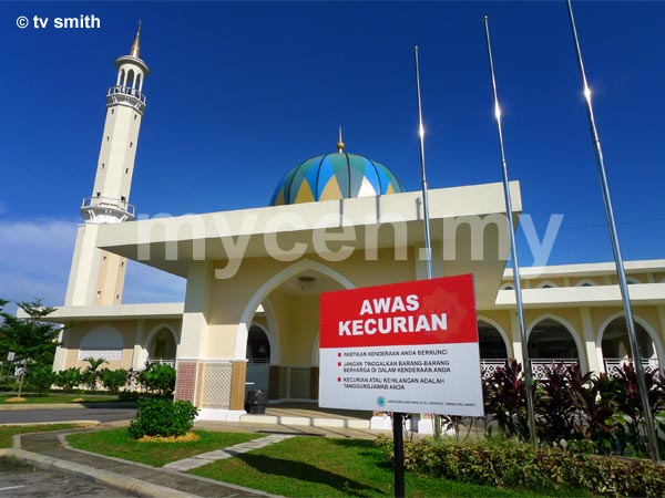 The Al-Hidayah Mosque at Taman Melawati