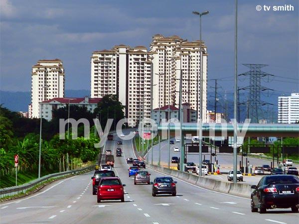 Villa Angsana Condominium as seen from DUKE