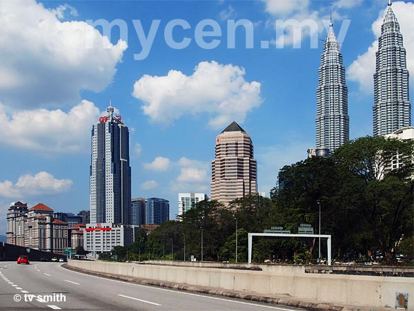 Ampang-KL Elevated Highway - A.K.L.E.H.