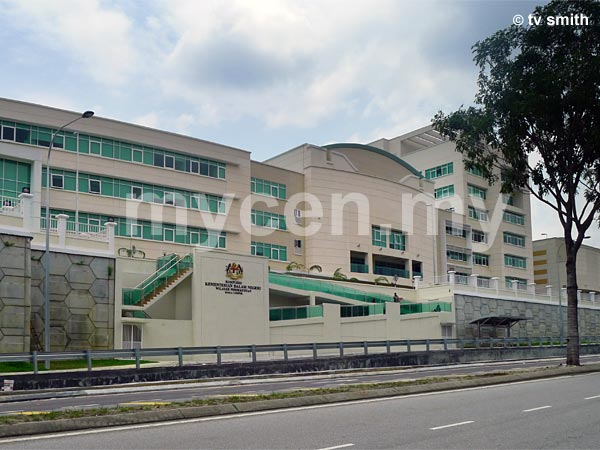 Home Affairs Ministry FT KL Complex in Jalan Duta with Immigration Department