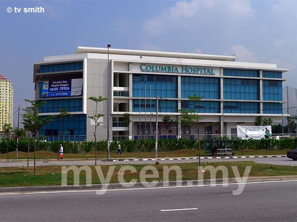 Columbia Asia Hospital Setapak as seen from Jalan Genting Klang
