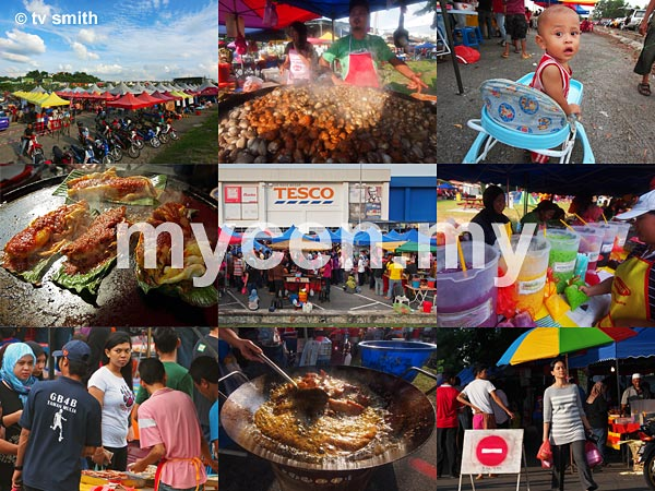 MyCen Map of Ramadan bazaars in and around Kuala Lumpur, Petaling Jaya & Selangor 2012