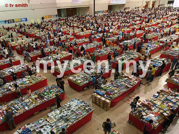 The Big Bad Wolf Book Sale 2012 at MIECC