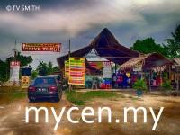 Cendol Bakar Drive Thru Kuala Selangor