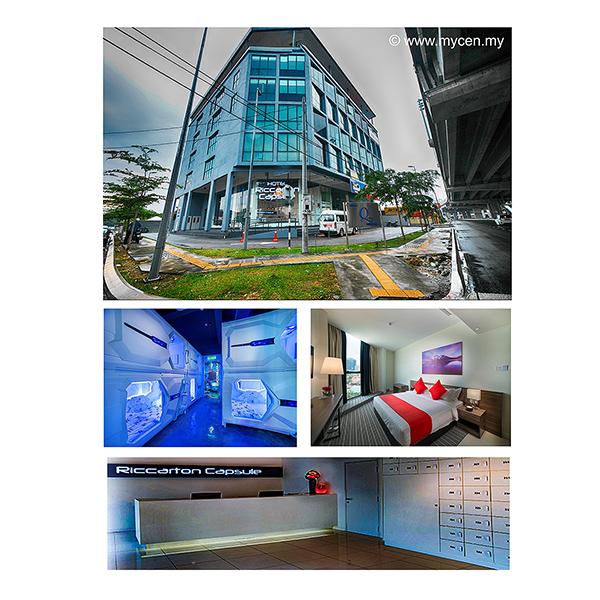 Riccarton Capsule Hotel Kuala Lumpur