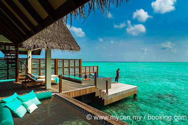 The Four Seasons Resort Maldives at Landaa Giraavaru.